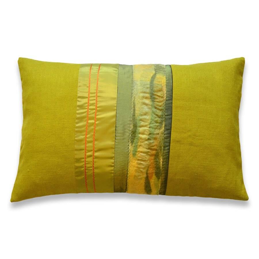 Kissen-Unikate von AN-NA Design, farbenfroh und individuell