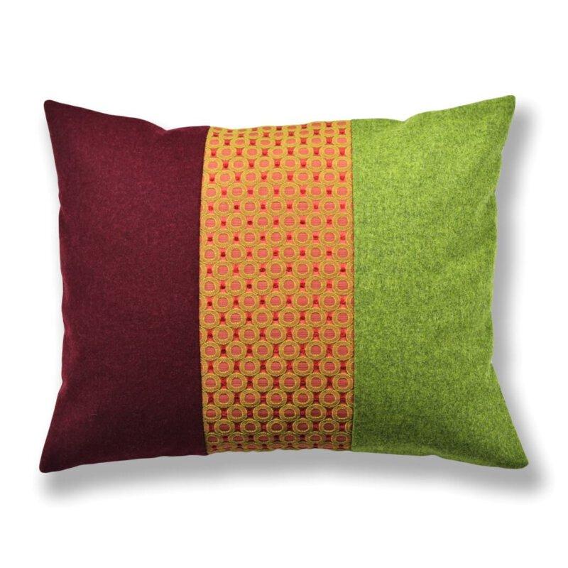 Kissen-Unikate von AN-NA Design in starken Farben.