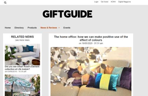 Gastbeitrag von AN-NA Design im australischen Magazin Australian Gift Guide