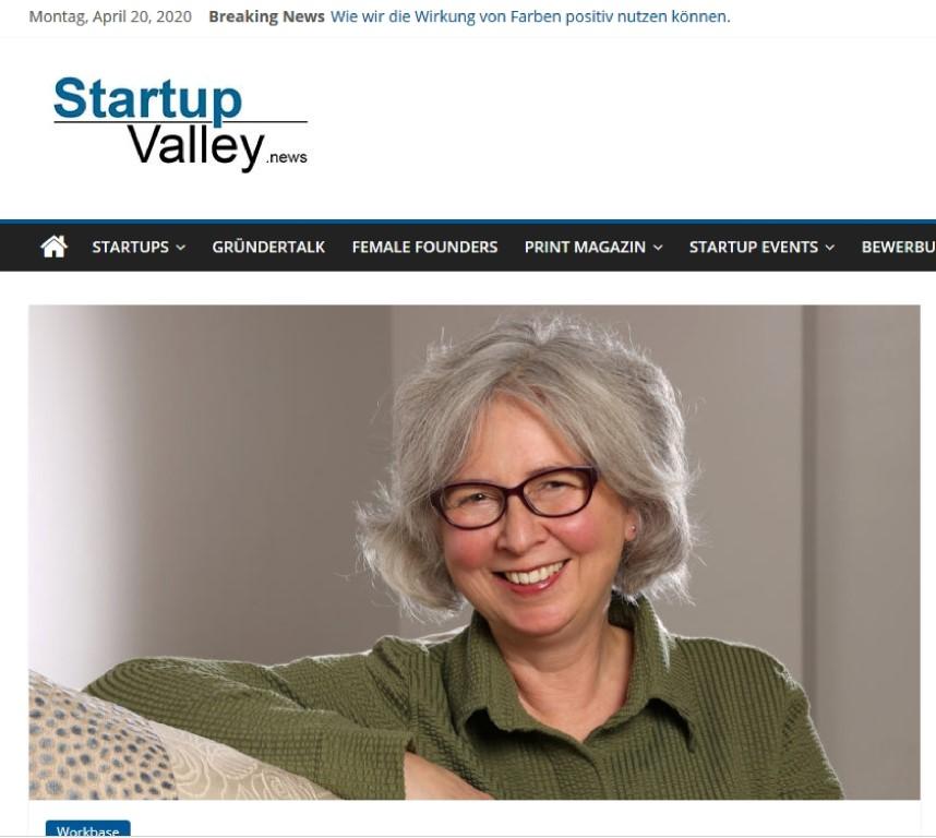 StartupValley Magazin über AN-NA Design im April 2020
