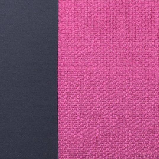 Kissen-Unikat von AN-NA Design in starken Farben. Größe 30x50 cm, hier die Farben lila und pink.